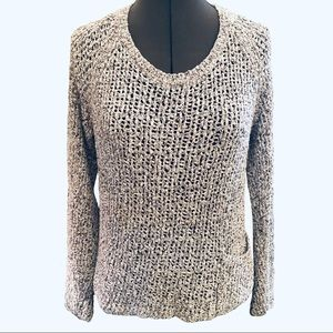 Eileen Fisher Long Sleeve Marled Sweater